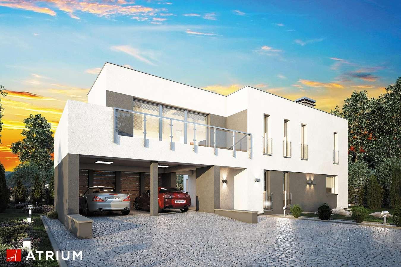 Projekt domu piętrowego MAGNUS - wizualizacja 1