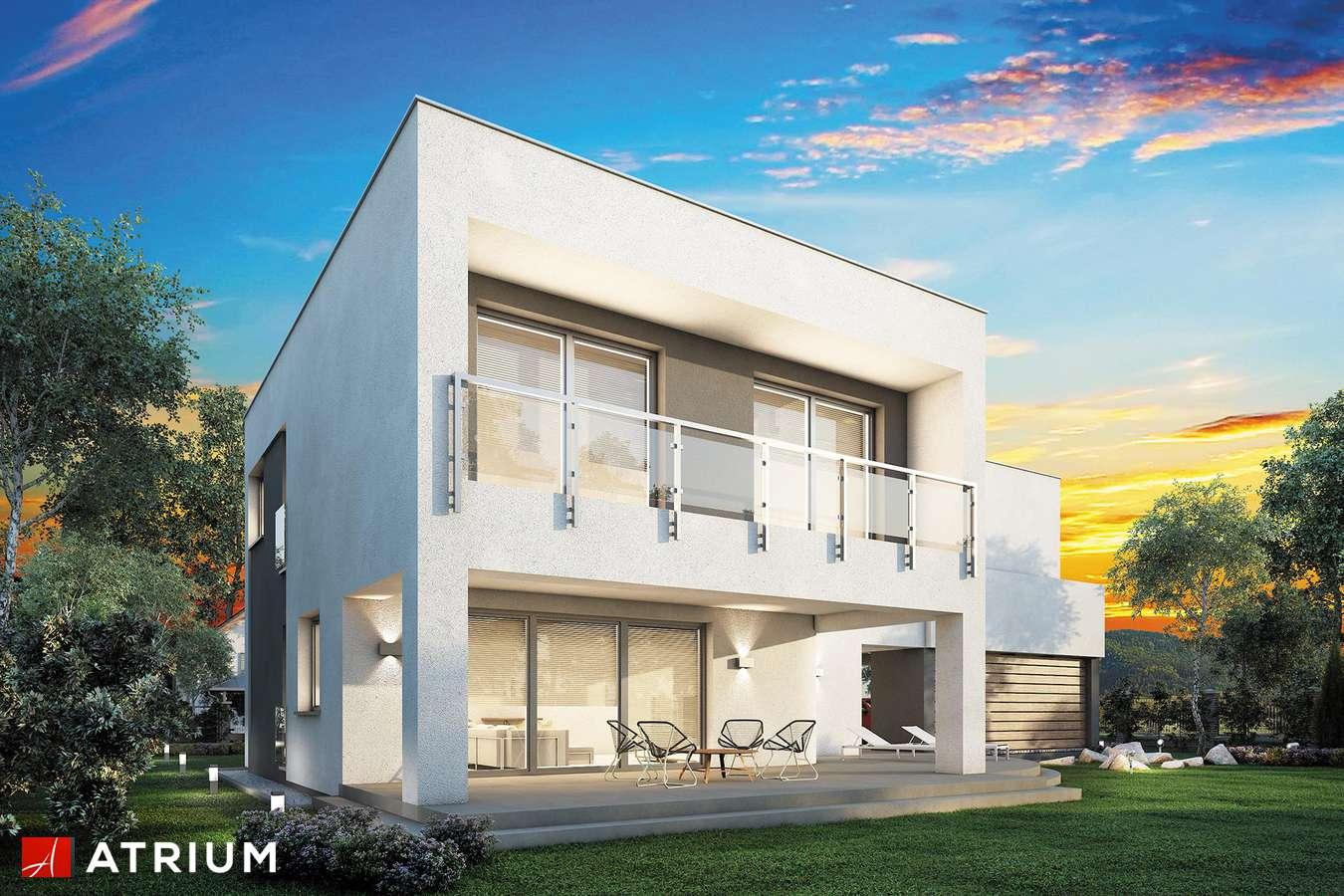 Projekt domu piętrowego MAGNUS - wizualizacja 2
