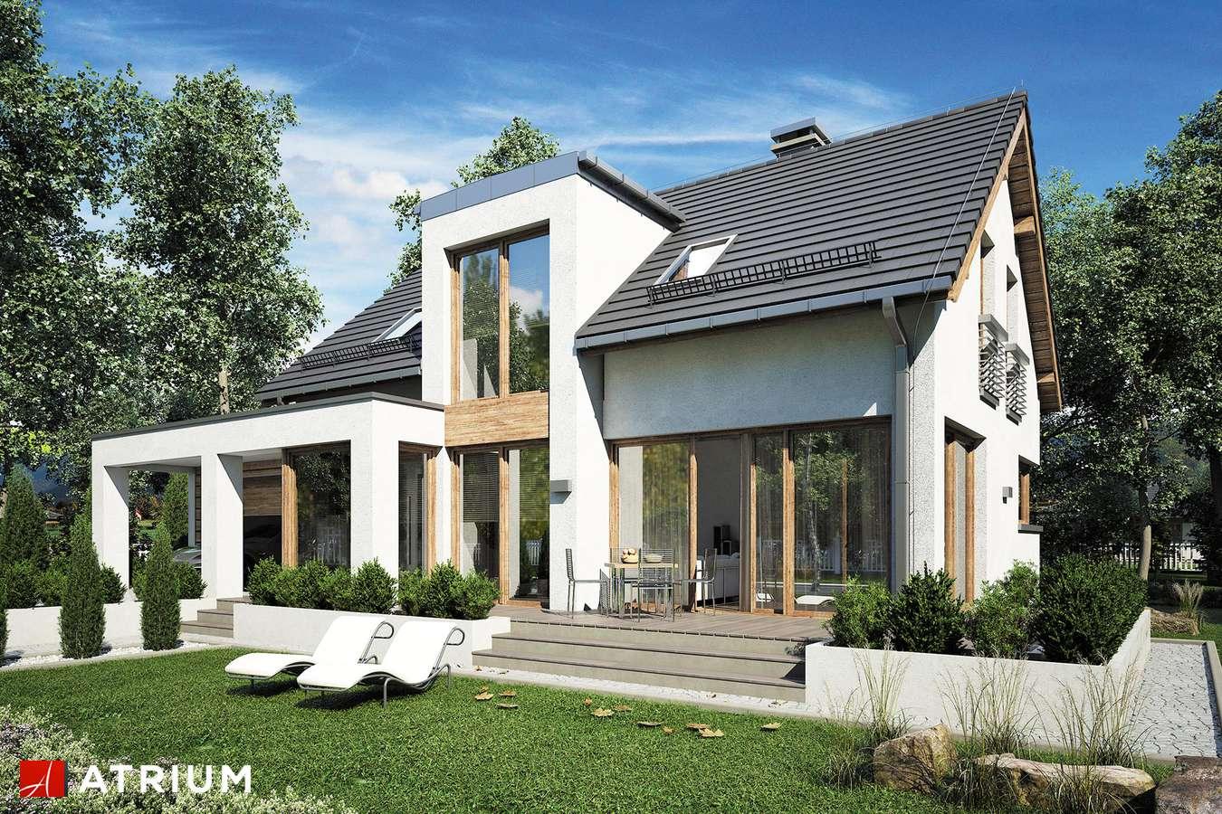 Projekty domów - Projekt domu z poddaszem RUMBA III - wizualizacja 2
