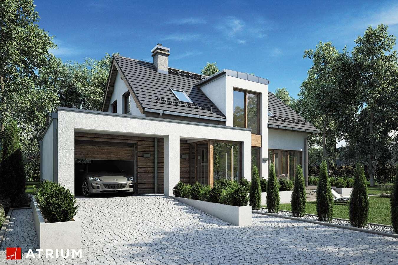Projekty domów - Projekt domu z poddaszem RUMBA III - wizualizacja 1