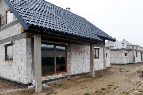 Projekt domu Rumba IV w budowie
