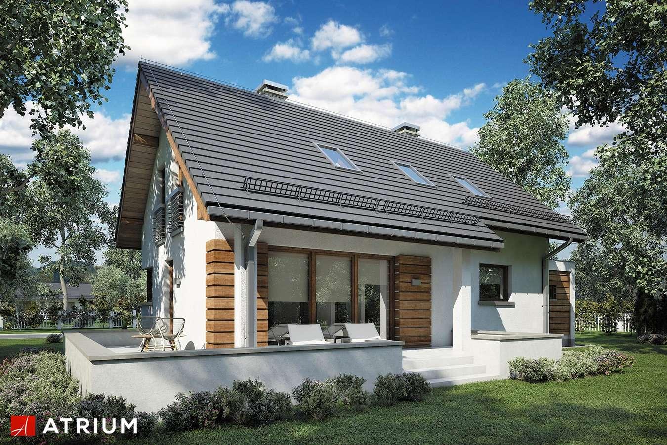 Projekty domów - Projekt domu z poddaszem RUMBA IV - wizualizacja 2
