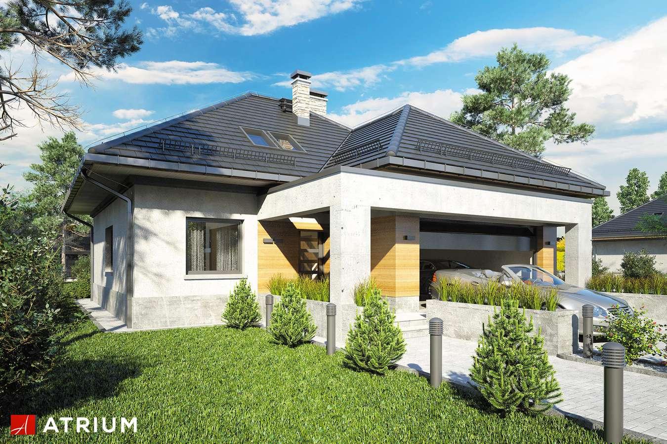 Projekty domów - Projekt domu z poddaszem FADO V - wizualizacja 1