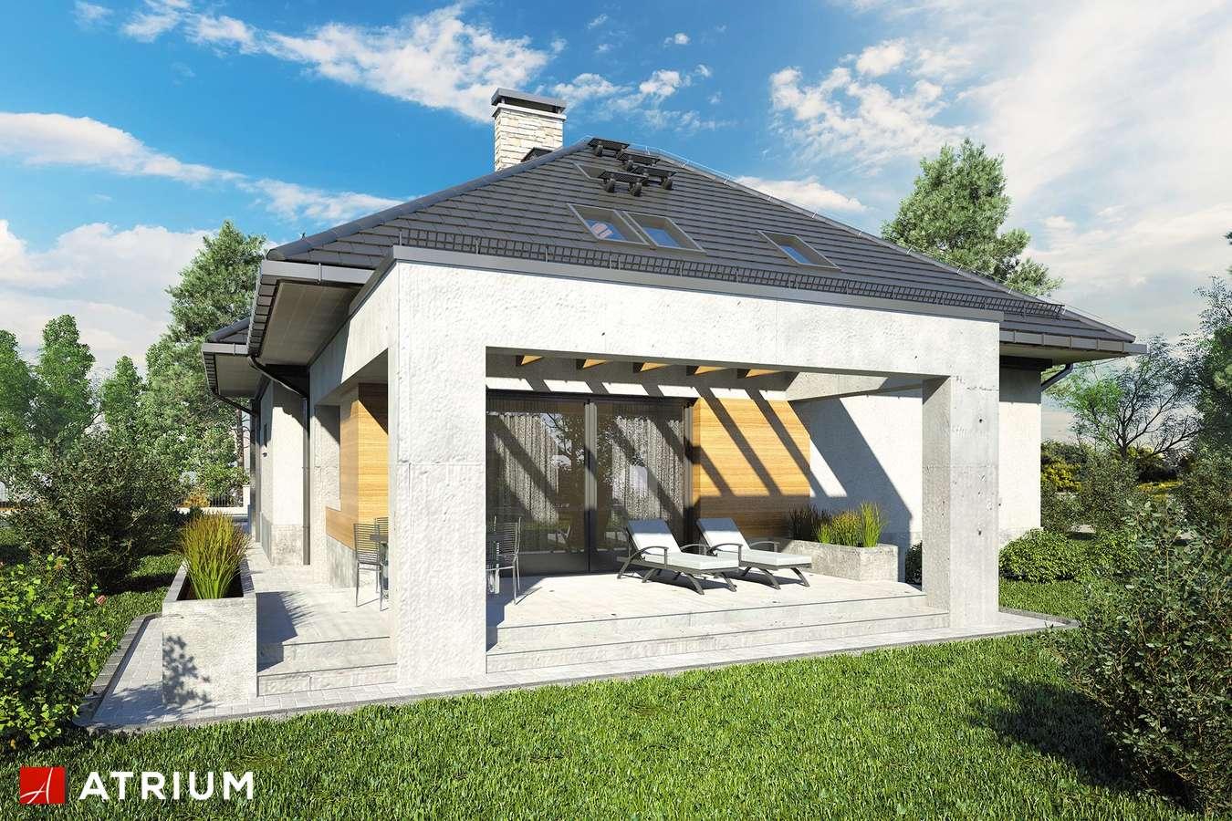 Projekty domów - Projekt domu z poddaszem FADO V - wizualizacja 2
