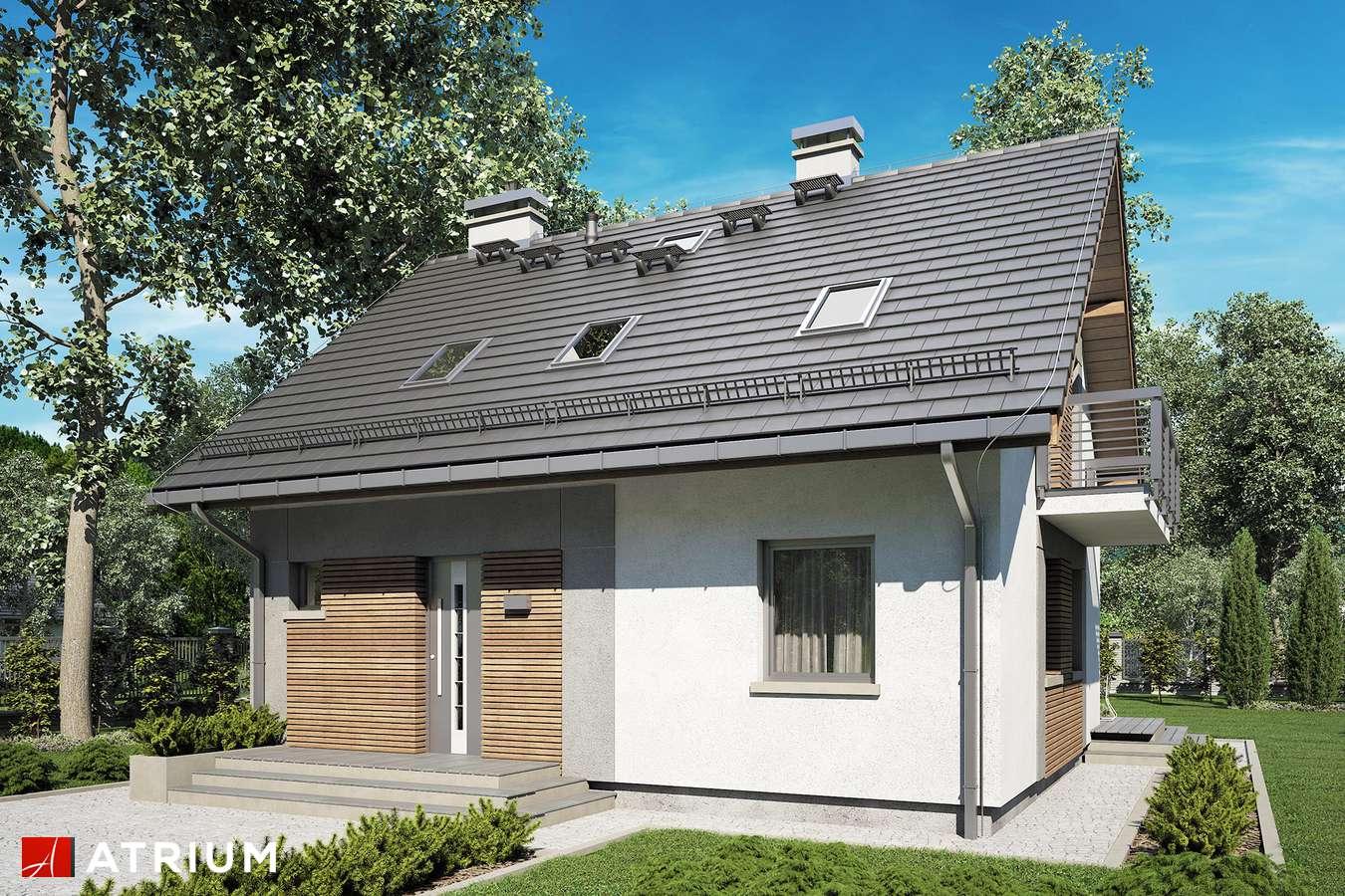 Projekty domów - Projekt domu z poddaszem ADA III - wizualizacja 1