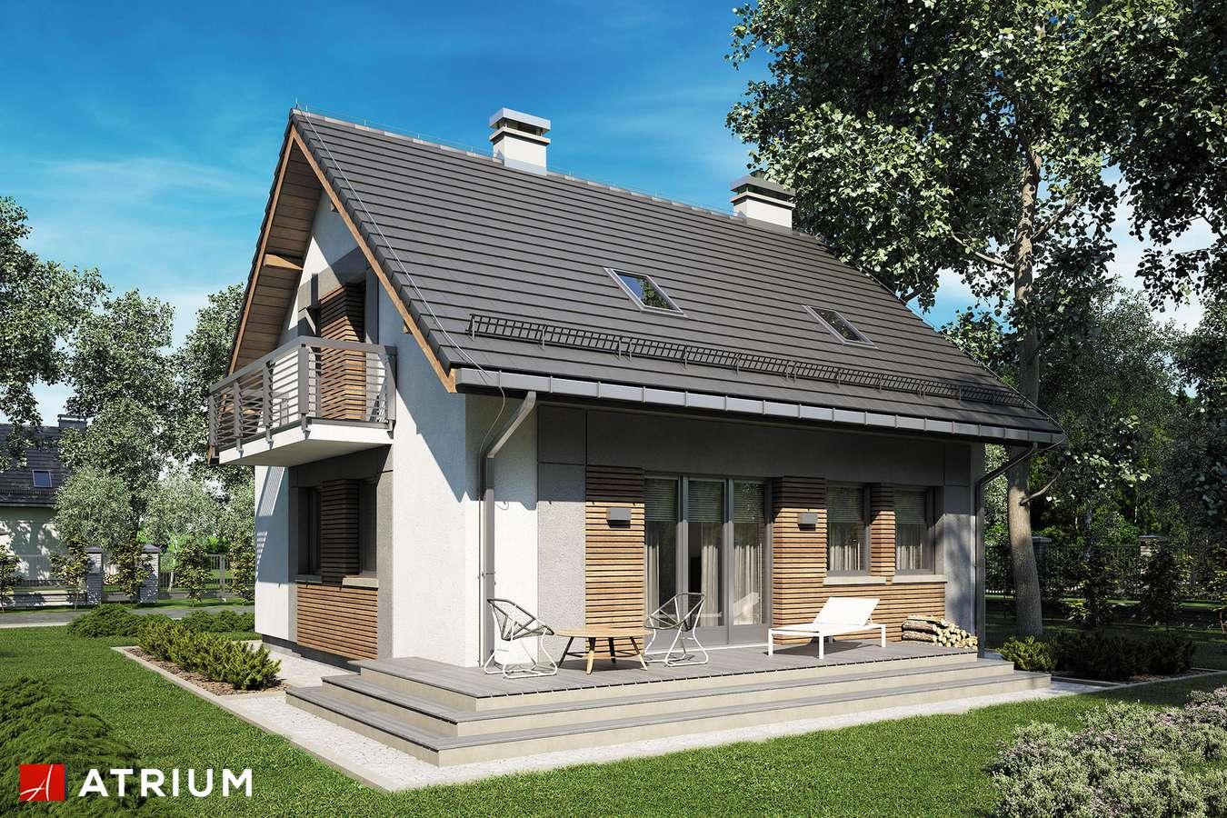 Projekty domów - Projekt domu z poddaszem ADA III - wizualizacja 2