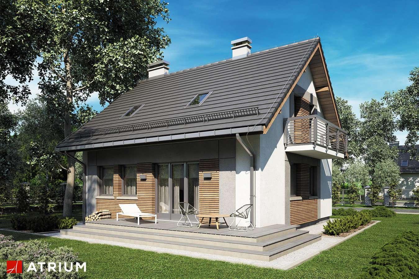 Projekty domów - Projekt domu z poddaszem ADA III - wizualizacja 2 - wersja lustrzana