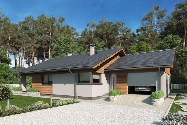 Projekt domu Kos IV