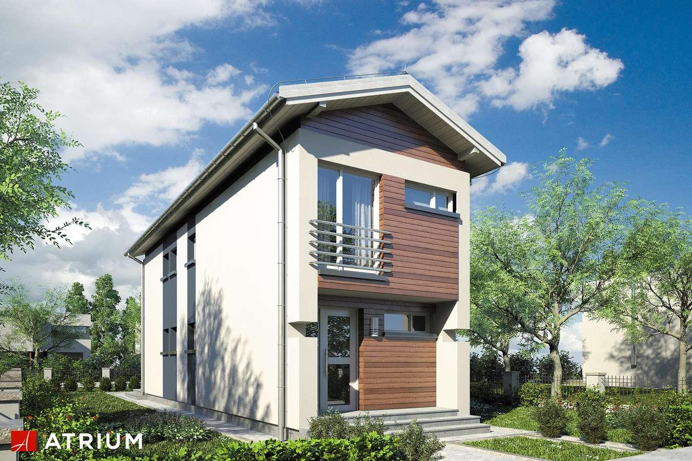 Projekty domów - Projekt domu piętrowego BUSIK - wizualizacja 1