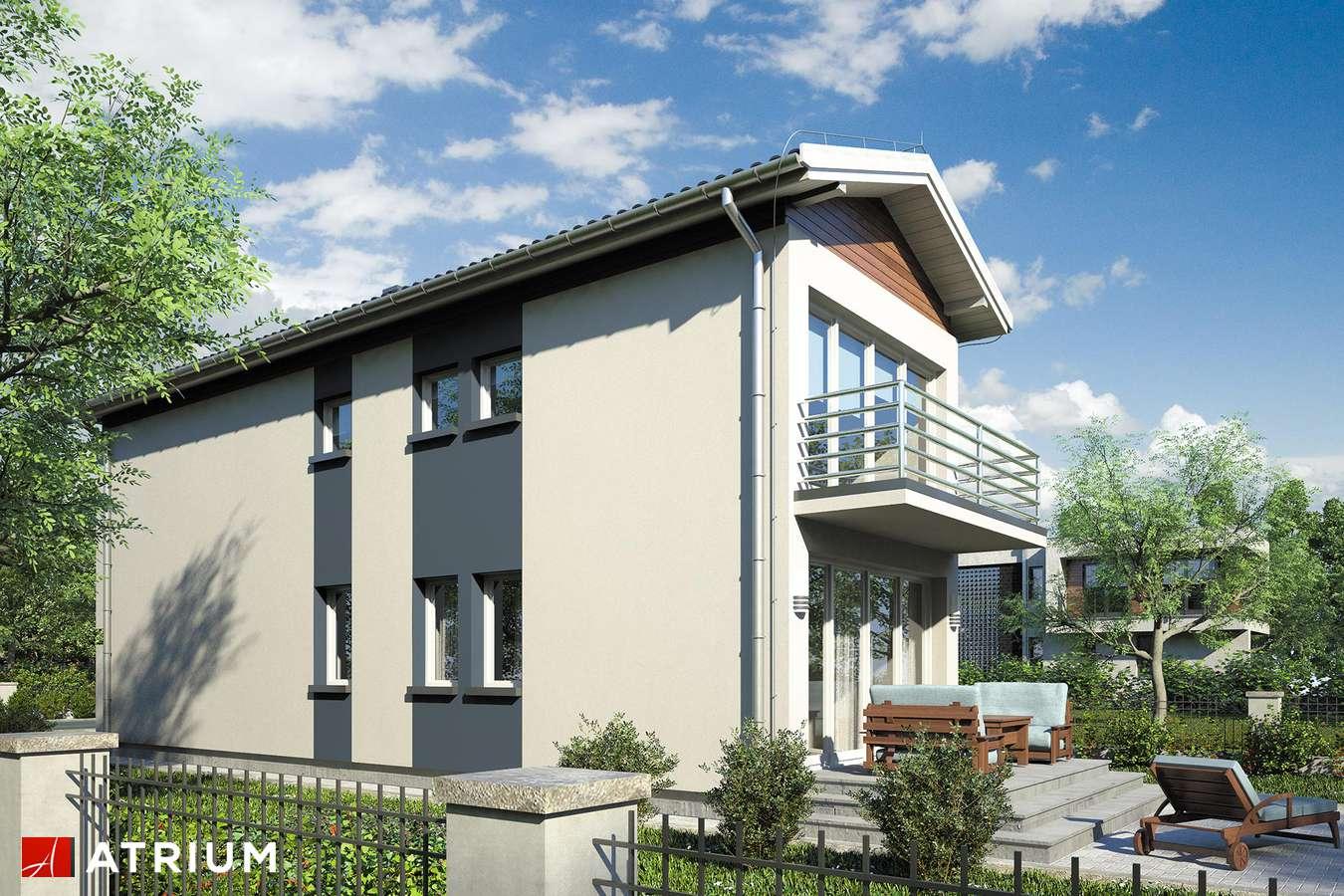 Projekty domów - Projekt domu piętrowego BUSIK - wizualizacja 2
