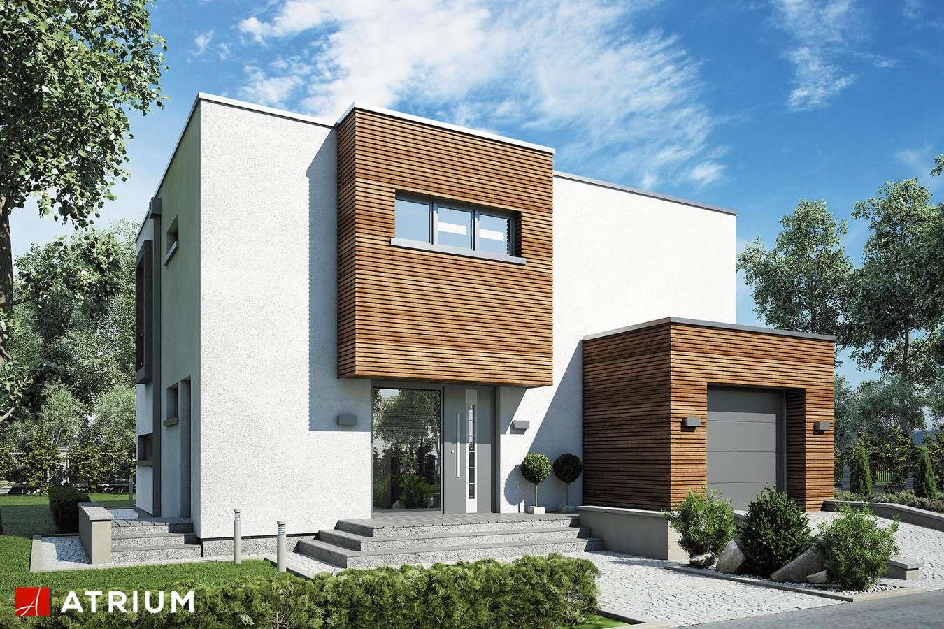 Projekty domów - Projekt domu piętrowego QUBUS III - wizualizacja 1
