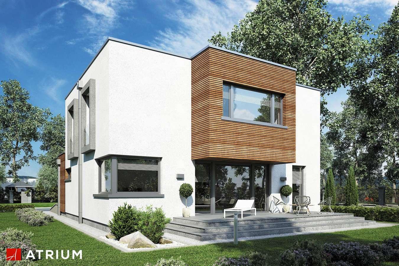 Projekty domów - Projekt domu piętrowego QUBUS III - wizualizacja 2