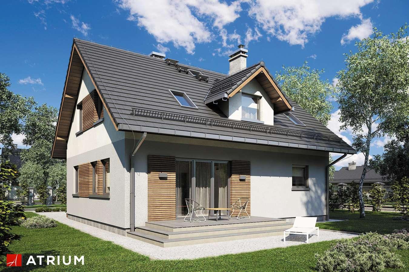 Projekty domów - Projekt domu z poddaszem COMPACT HOUSE III - wizualizacja 2