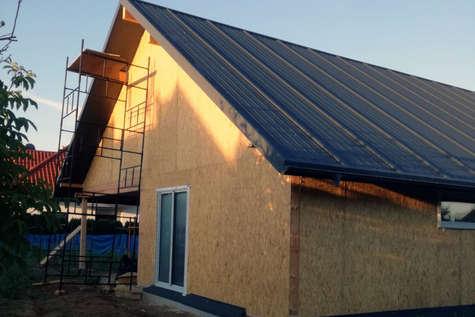 Projekt domu Pliszka V w budowie