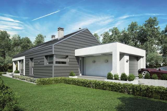 Projekt domu Pelikan Slim III
