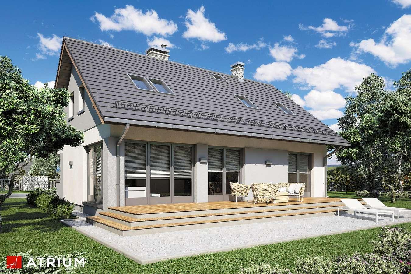 Projekty domów - Projekt domu z poddaszem ROLAND III - wizualizacja 2