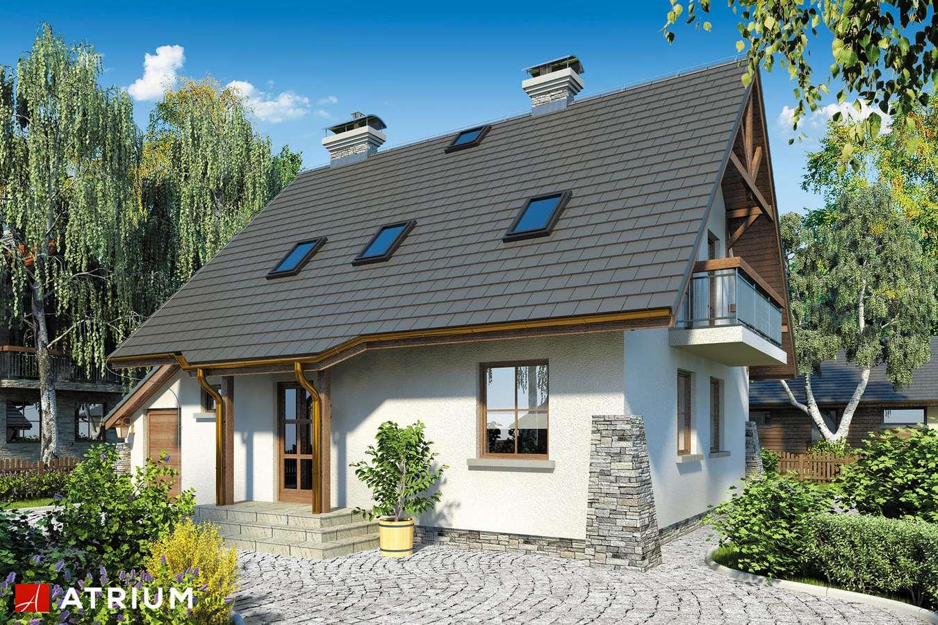 Projekty domów - Projekt domu z poddaszem ADA - wizualizacja 1