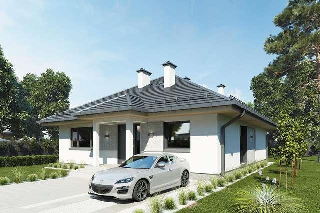 Projekt domu Kalifornia III