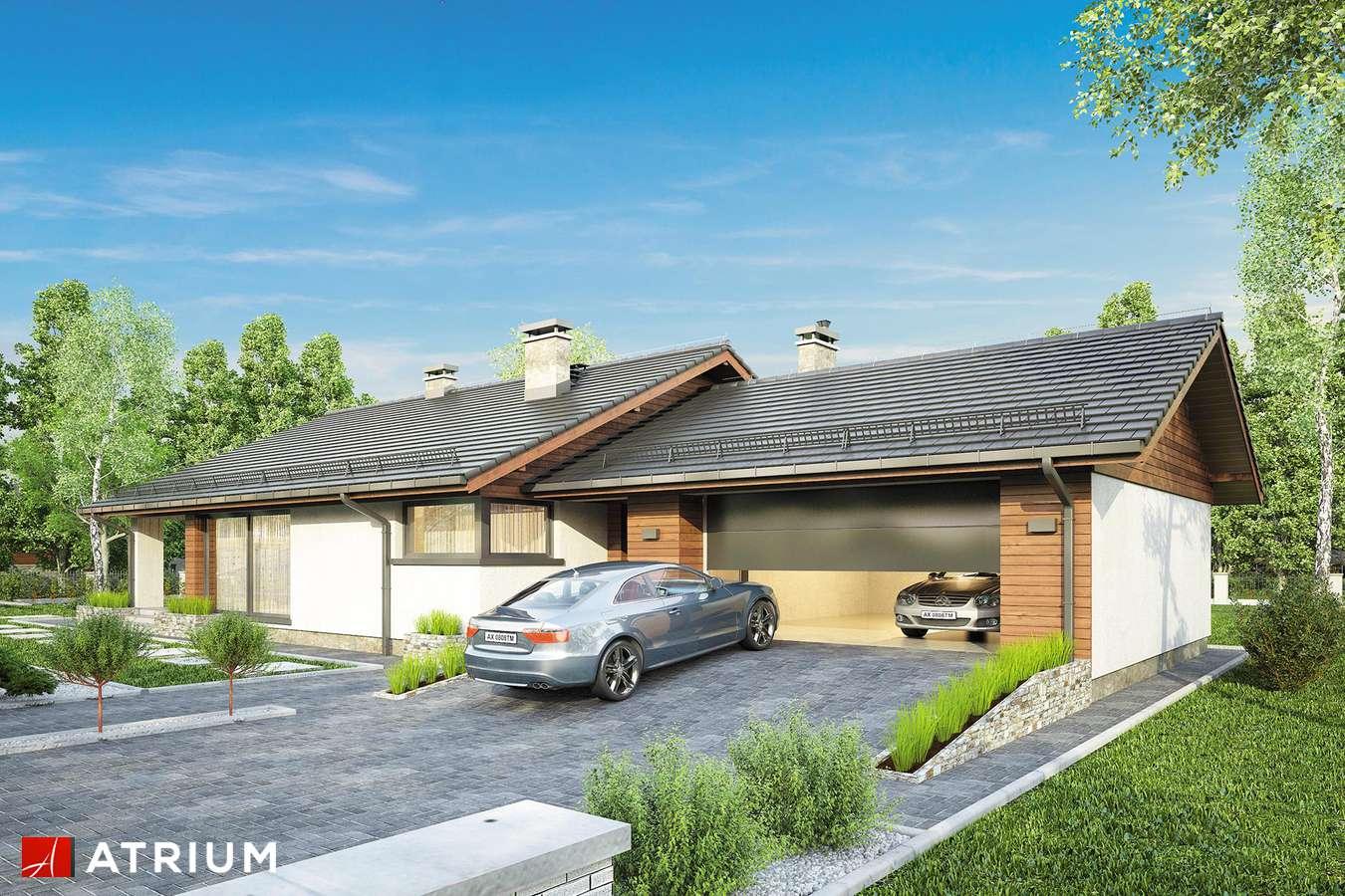 Projekty domów - Projekt domu parterowego KOS V - wizualizacja 1