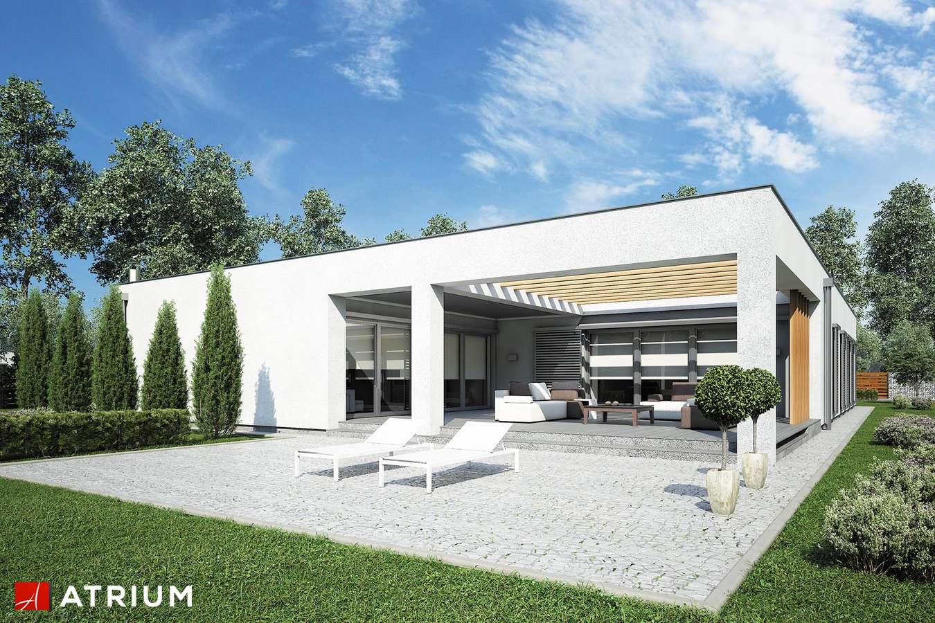 Projekty domów - Projekt domu parterowego HORIZONTAL III - wizualizacja 2
