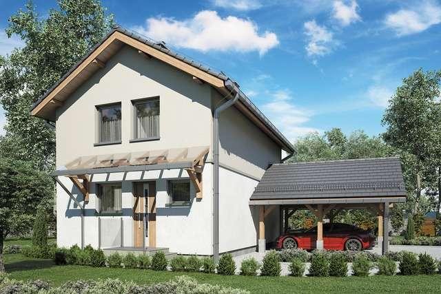 Projekt domu Kamyczek III