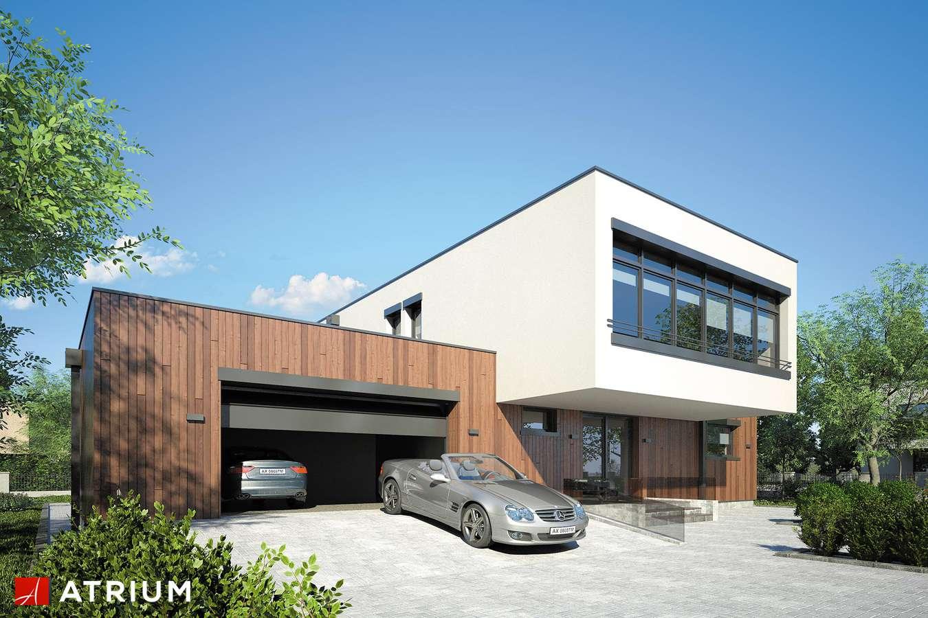 Projekty domów - Projekt domu piętrowego MALTA II - wizualizacja 1