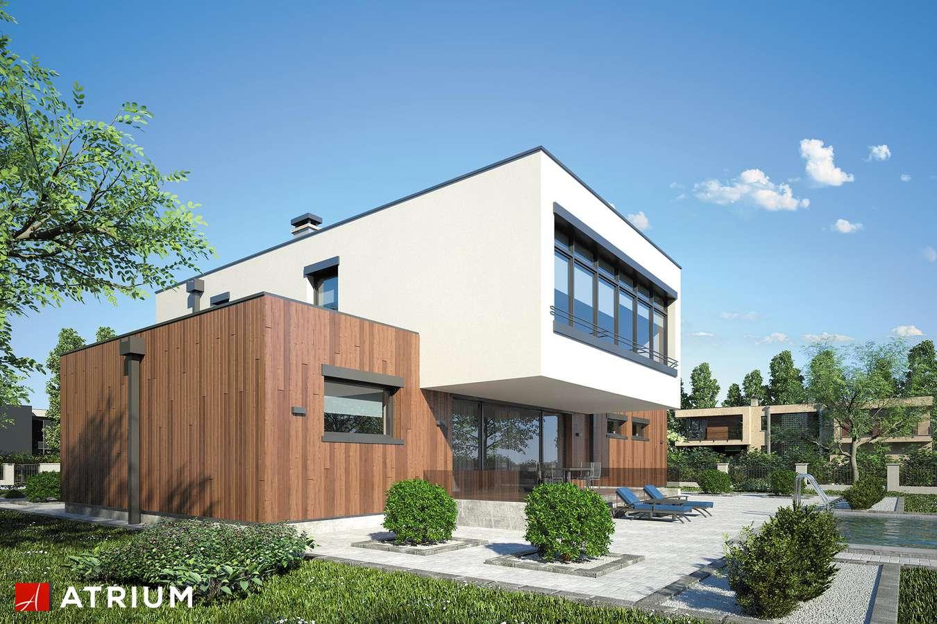Projekty domów - Projekt domu piętrowego MALTA II - wizualizacja 2