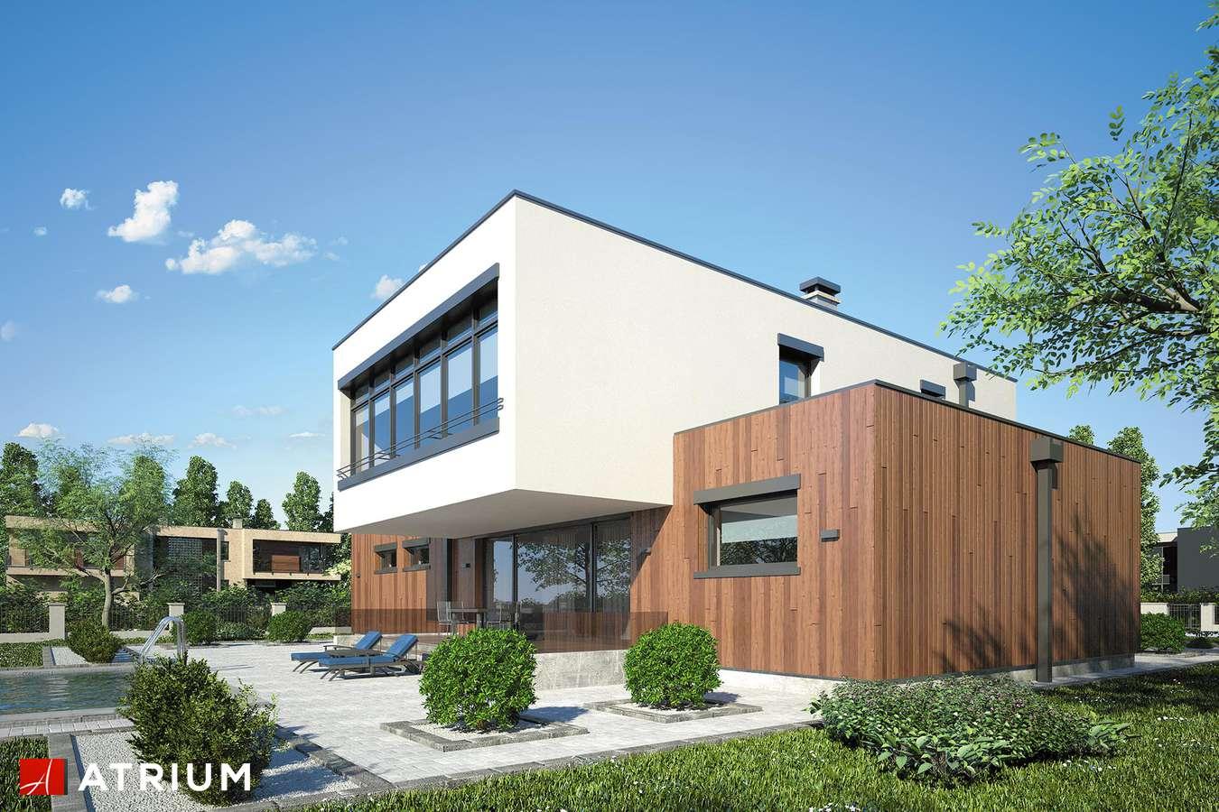 Projekty domów - Projekt domu piętrowego MALTA II - wizualizacja 2 - wersja lustrzana