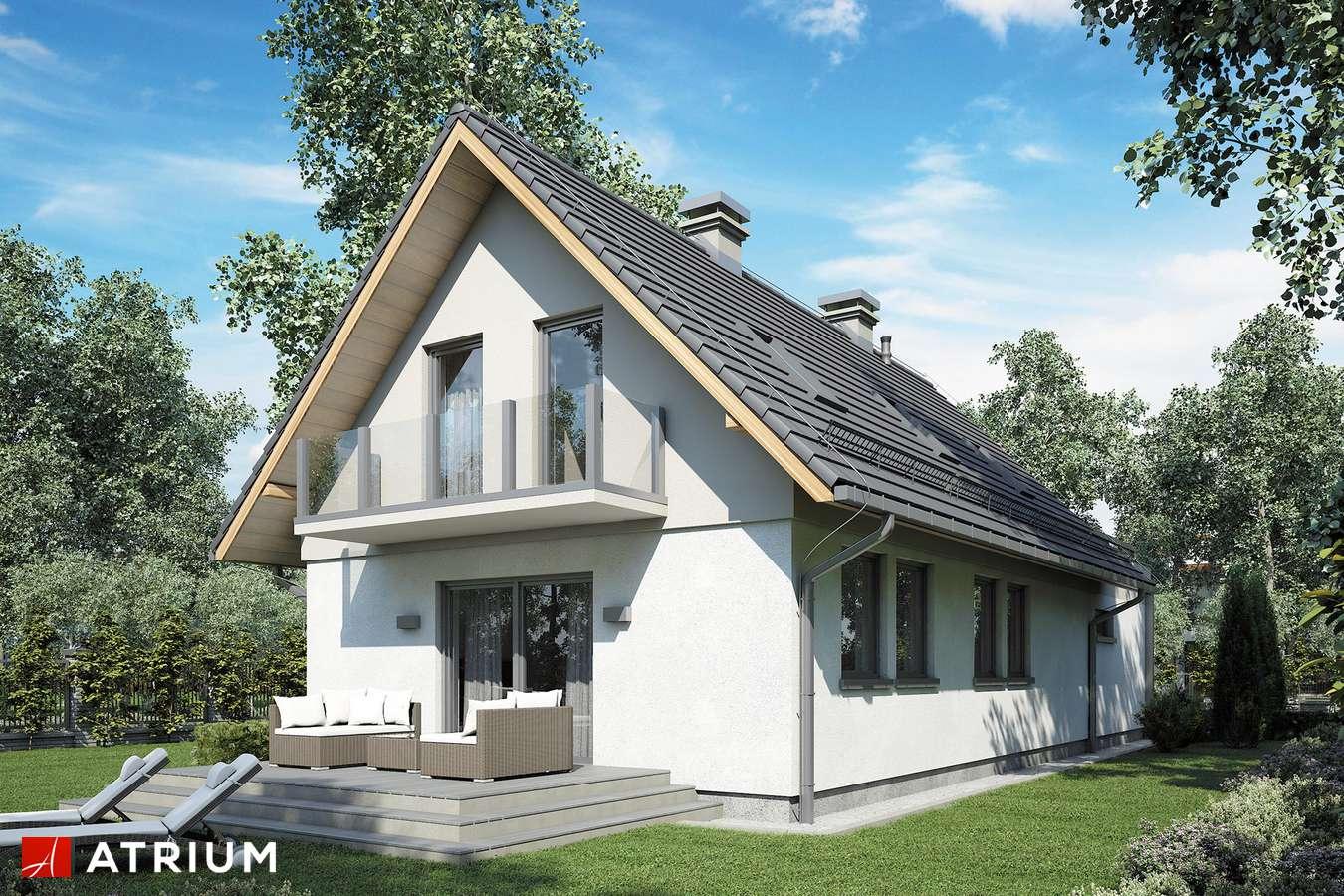 Projekty domów - Projekt domu z poddaszem MAJA III - wizualizacja 2