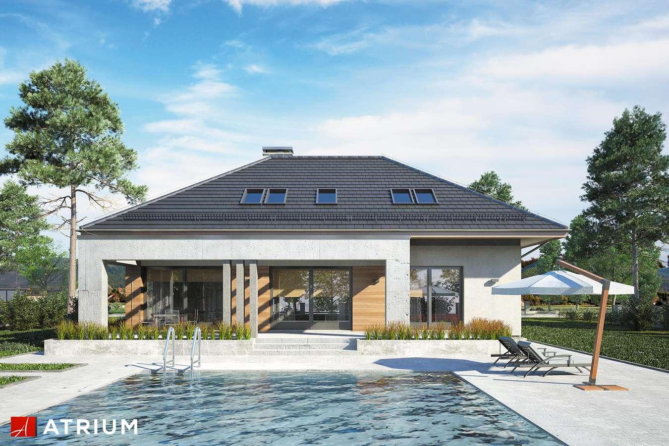 Projekty domów - Projekt domu z poddaszem CABERNET PLUS - wizualizacja 2