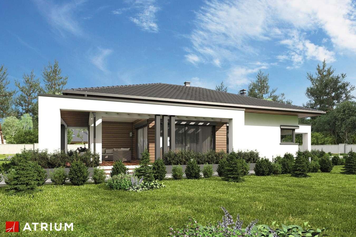 Projekty domów - Projekt domu parterowego SARDYNIA IV BIS - wizualizacja 2