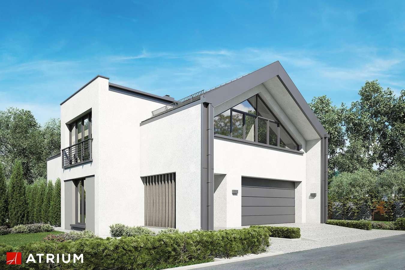 Projekty domów - Projekt domu z poddaszem VETRO - wizualizacja 1