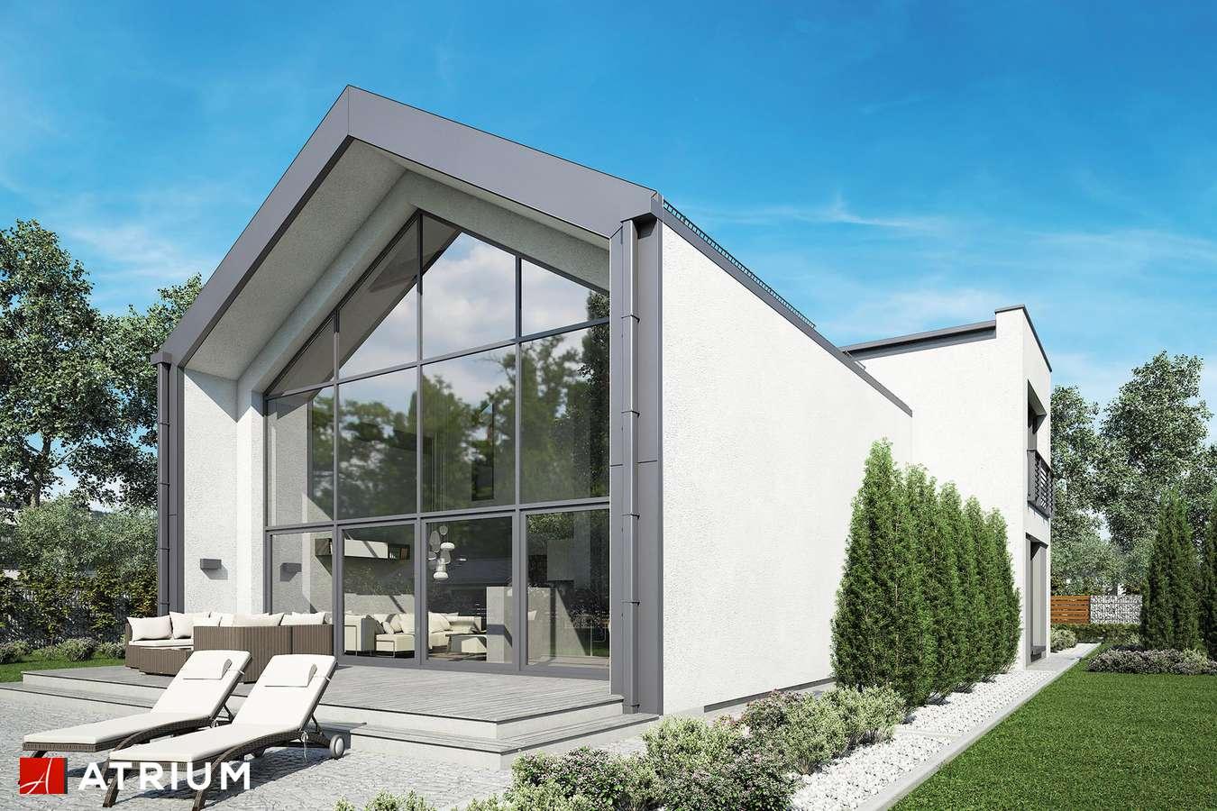 Projekty domów - Projekt domu z poddaszem VETRO - wizualizacja 2