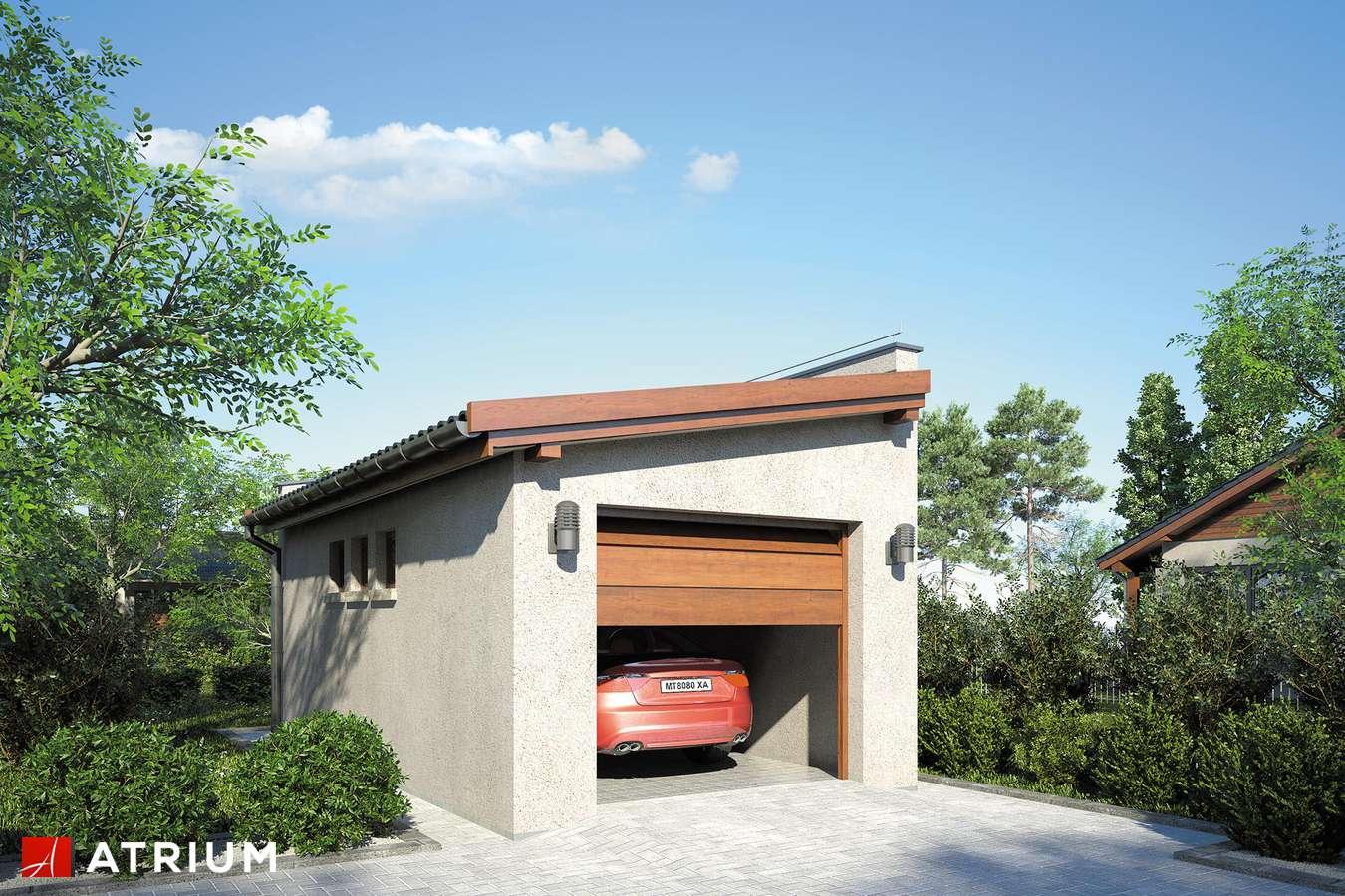 Garaż ZC 9 - wizualizacja 1