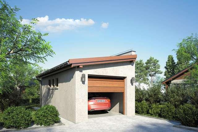 Projekt garażu ZC 9