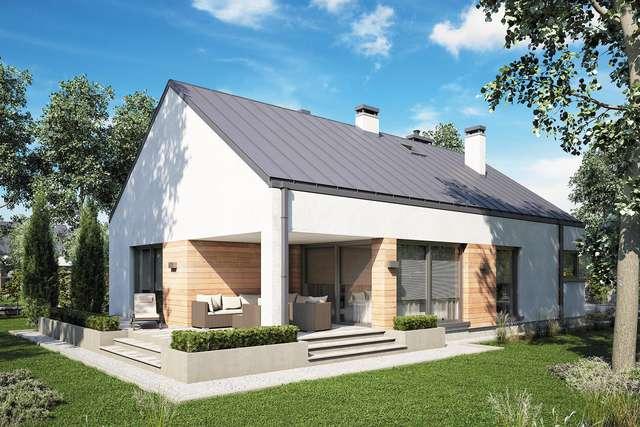 Projekt domu Pelikan Slim V