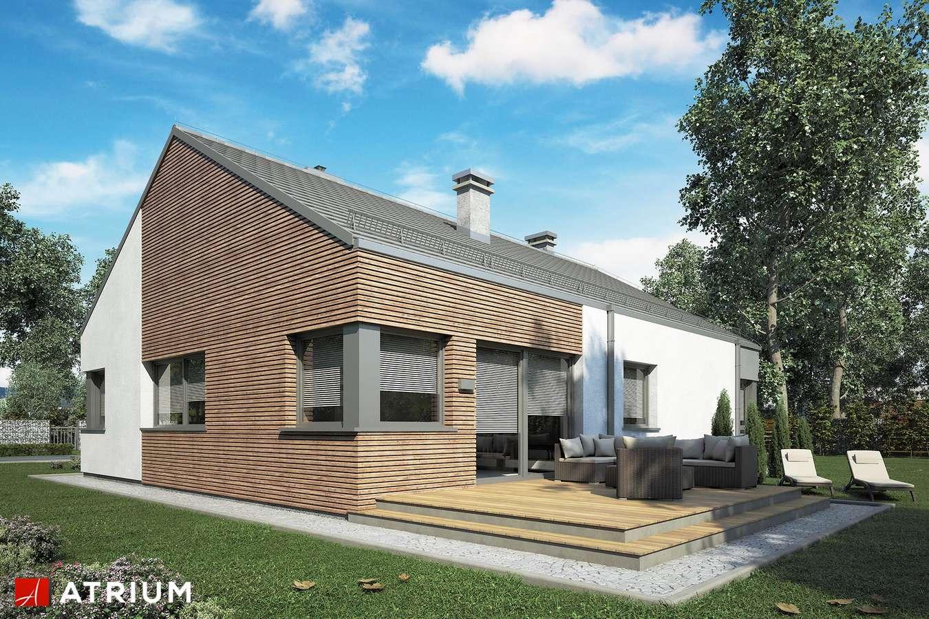 Projekty domów - Projekt domu parterowego MINORKA II - wizualizacja 1