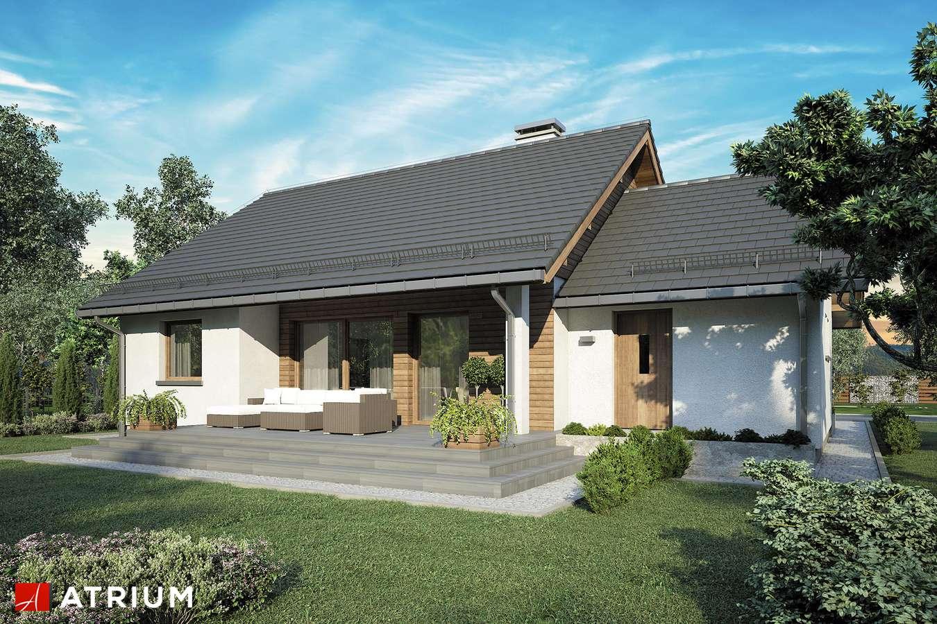 Projekty domów - Projekt domu parterowego REMIK VII - wizualizacja 2
