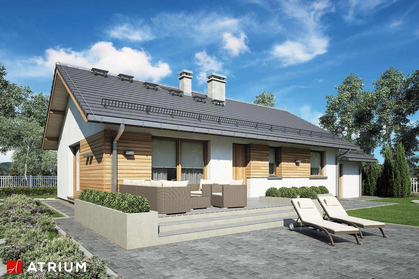 Projekty domów - Projekt domu parterowego AURORA MIDI II - wizualizacja 2