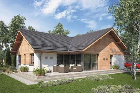 Projekt domu parterowego WINSTON XVII - wizualizacja 2