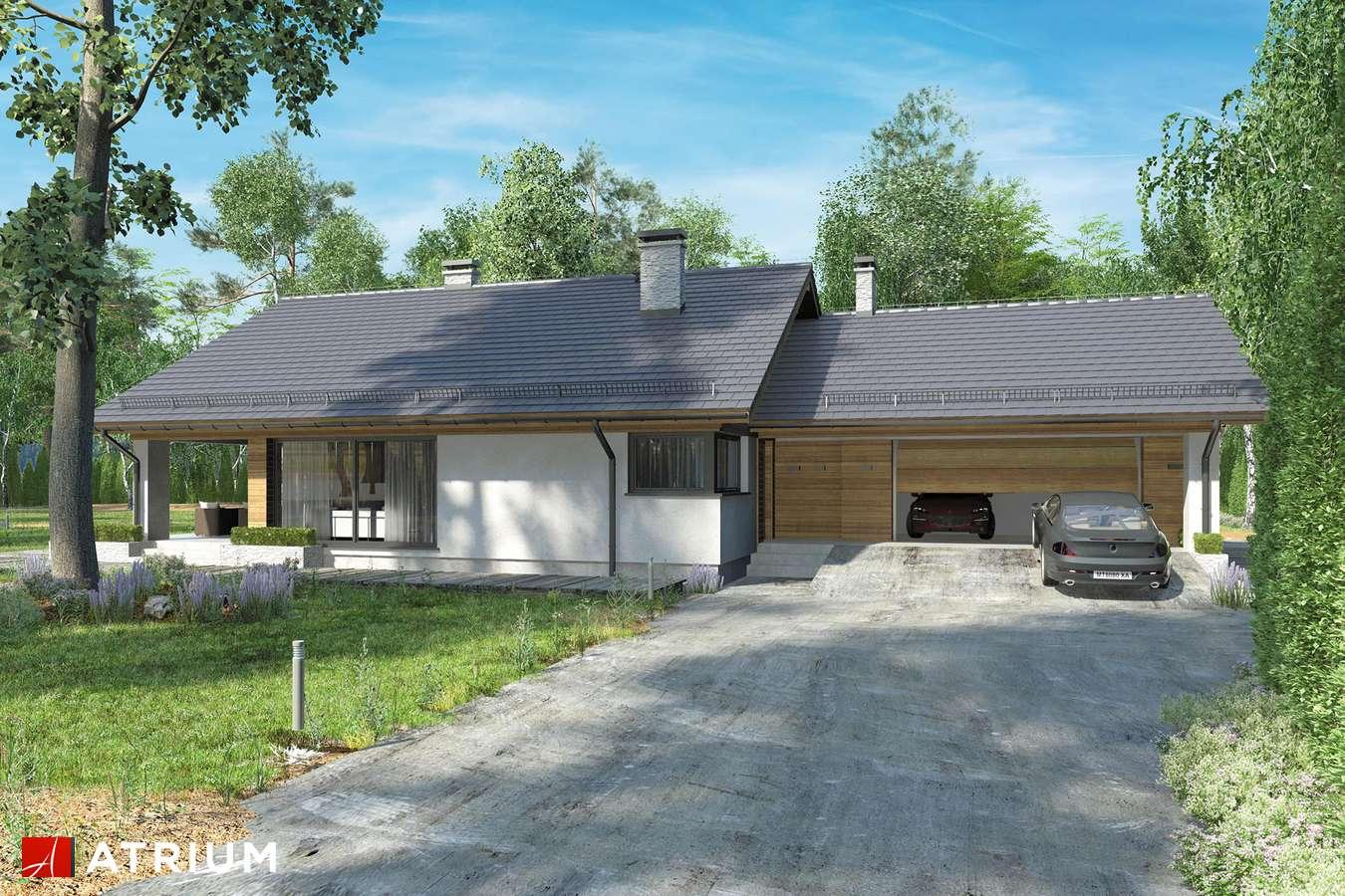 Projekty domów - Projekt domu z poddaszem KOS VI - wizualizacja 2