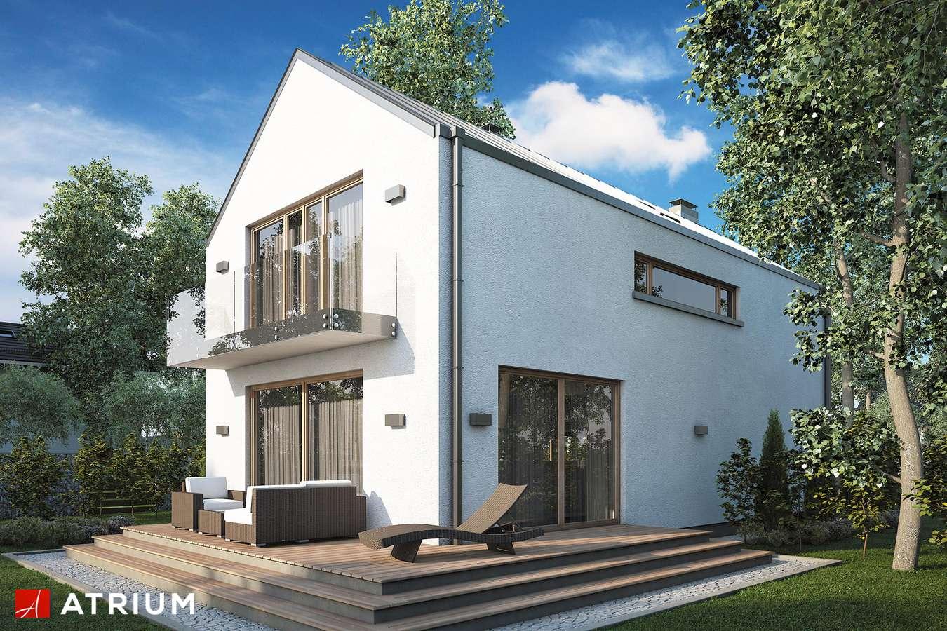 Projekty domów - Projekt domu z poddaszem BRUNO - wizualizacja 2