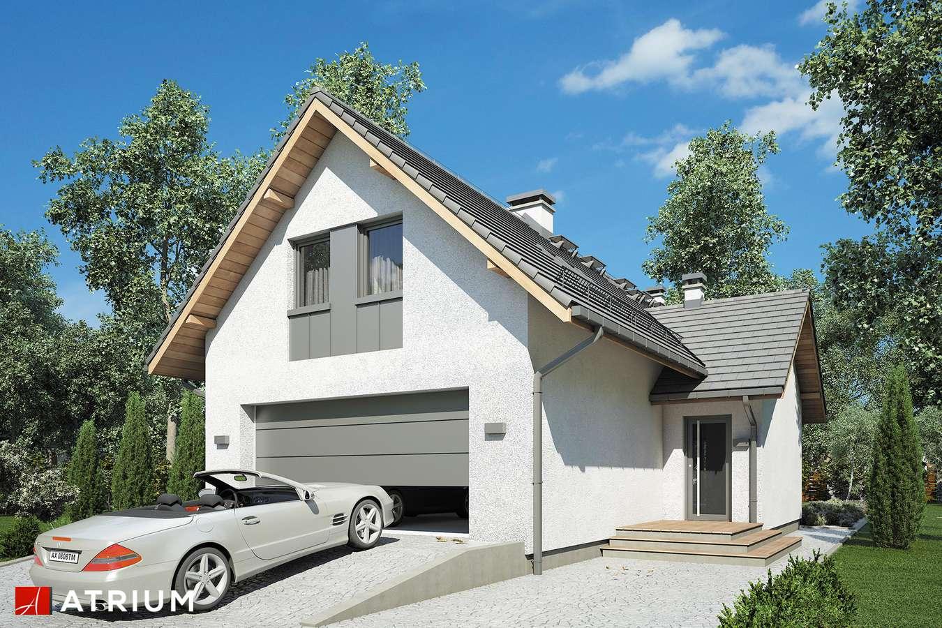 Projekty domów - Projekt domu z poddaszem SIGMA - wizualizacja 2