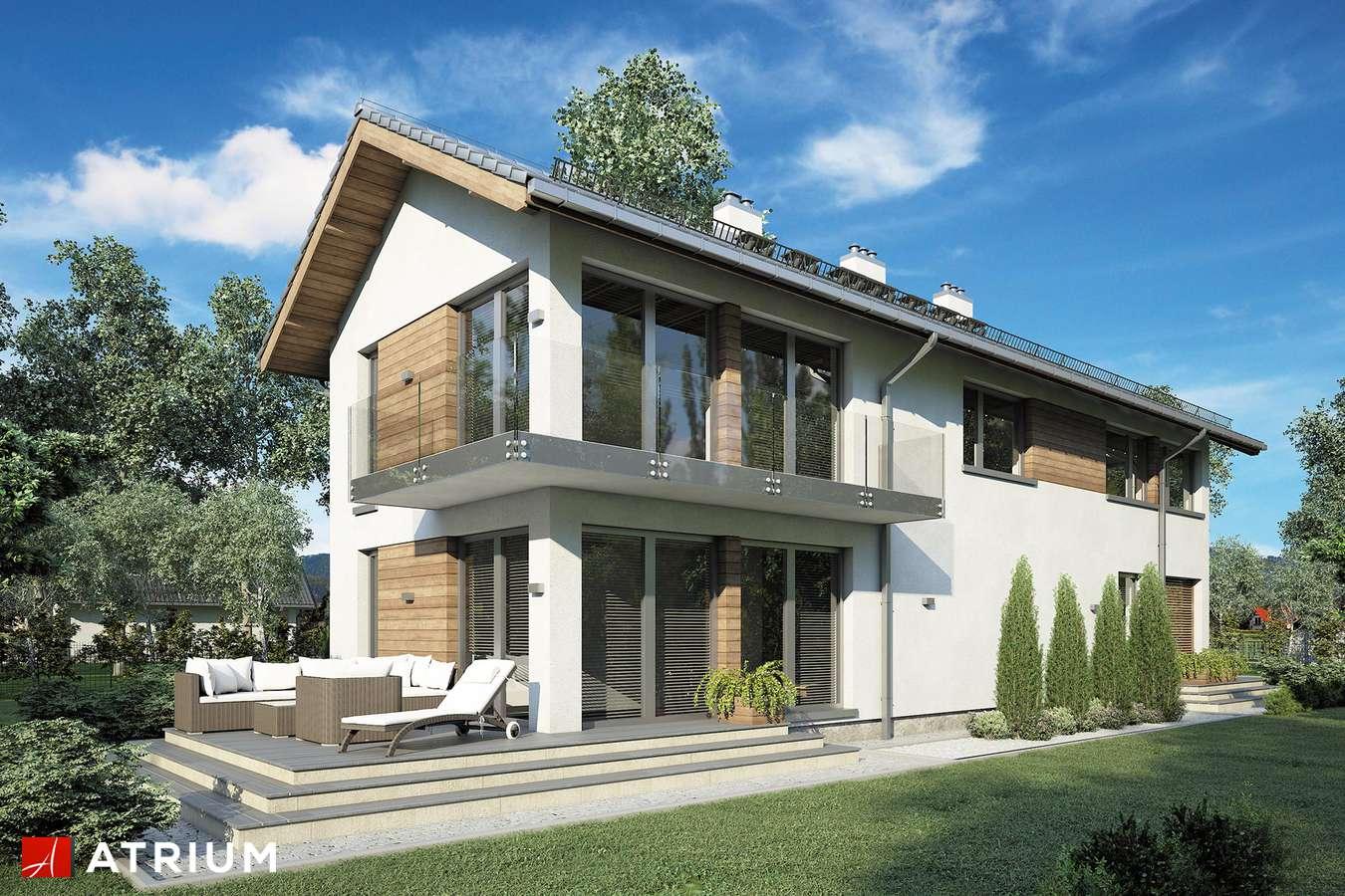 Projekty domów - Projekt domu piętrowego ORLANDO - wizualizacja 1