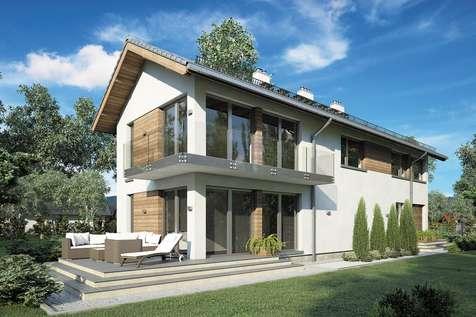 Projekt domu piętrowego ORLANDO
