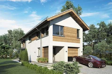 Projekt domu piętrowego ORLANDO - wizualizacja 2