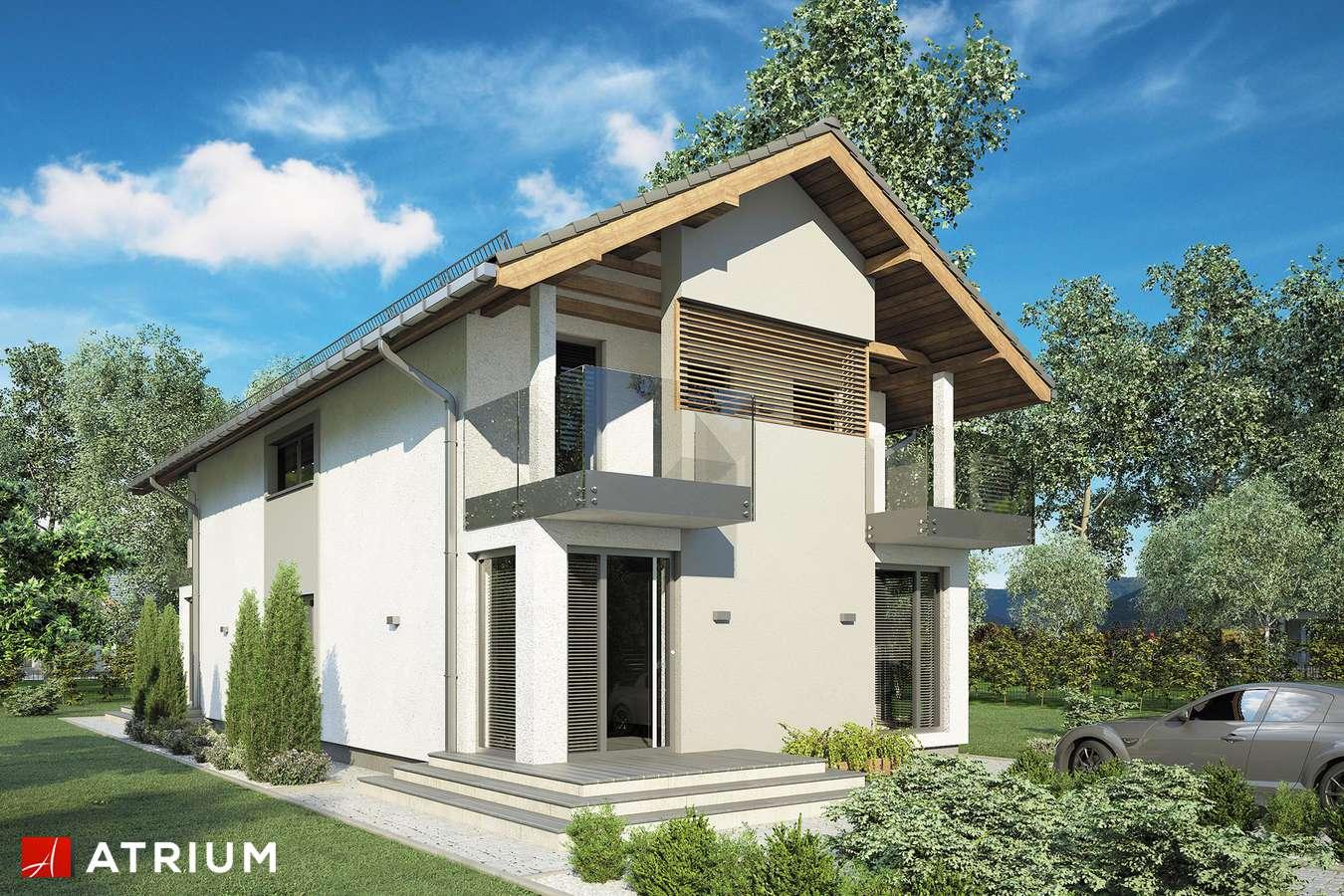 Projekty domów - Projekt domu piętrowego GARDA III - wizualizacja 1