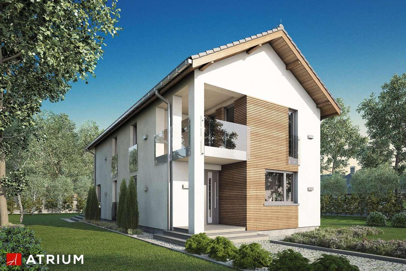 Projekty domów - Projekt domu piętrowego SOLARIS - wizualizacja 1