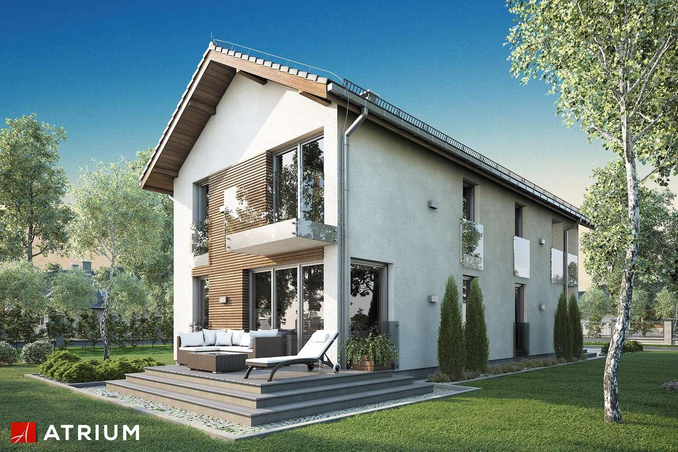 Projekty domów - Projekt domu piętrowego SOLARIS - wizualizacja 2