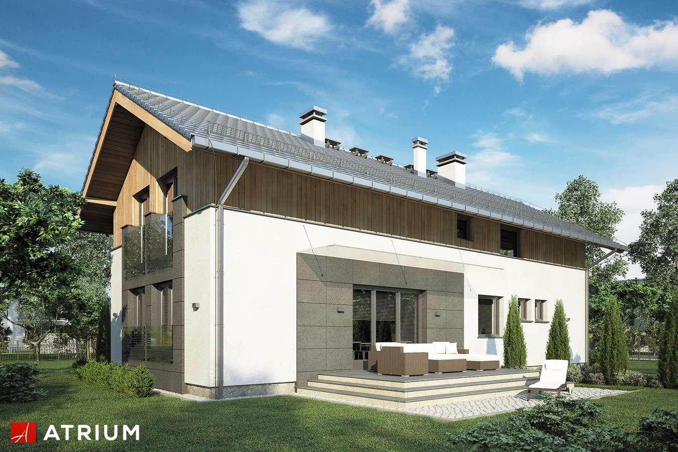 Projekty domów - Projekt domu z poddaszem HAPPY HOME - wizualizacja 2